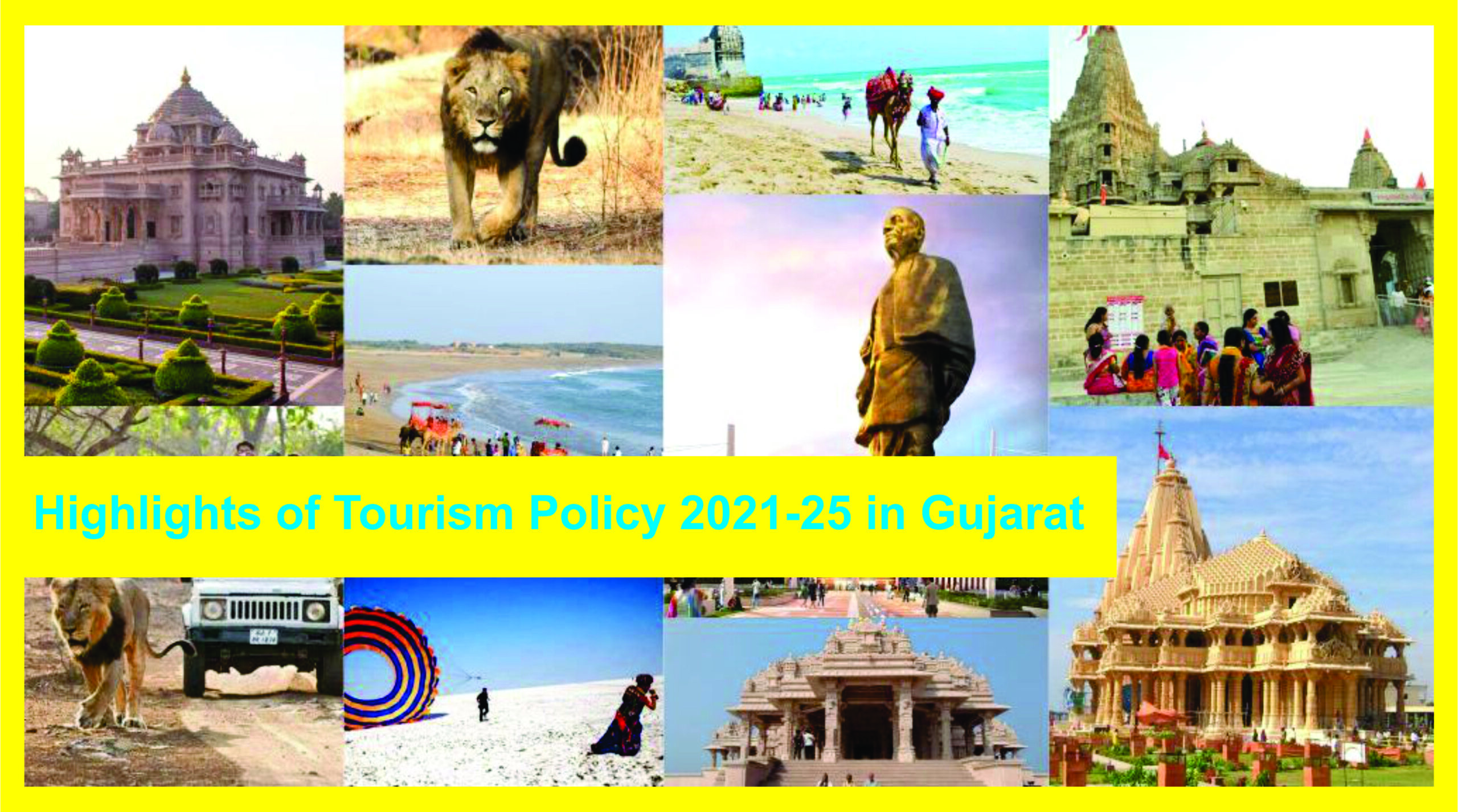 Tourism Policy 2021-25 in Gujarat